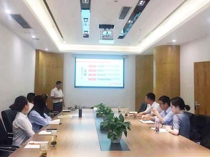 """""""走进国泰""""——重庆数字创意产业园开展企业文化培训"""